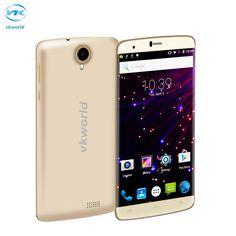 VKworld T6 6.0 inch HD 4G Mobile Phone Android 5.1 MTK6735 Quad Core 2GB RAM 16GB ROM Dual SIM 13.0MP Smartphone 3000mAh Battery