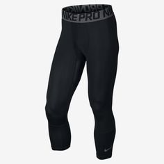 Nike Pro Hypercool Compression Three-Quarter Men's Basketball Tights