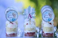 Glam Frozen Birthday | CatchMyParty.com