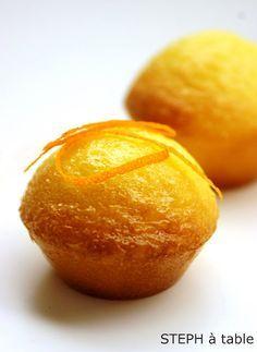stephatable: Mini Moelleux au citron