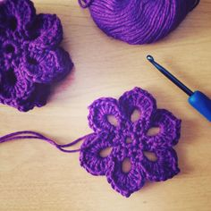 Photos of the week – Project 365 – Day 72 - #Crochet flower scarf