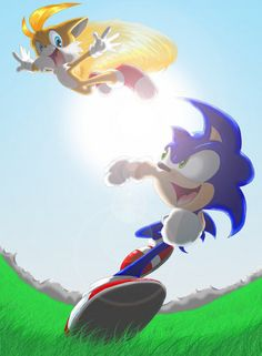 Free Spirited: Sonic and Tails - fighting-for-freedom Fan Art