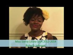 Salone Tag by Miss Sierra Leone USA 2013-2014 Ruby B. Johnson. #Africa #MissSierraLeoneUSA #WestAfrica