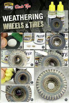 Tire weathering tutorial