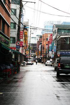 Hongdae District (홍대)