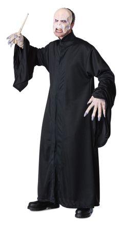Rubie's Costume Harry Potter Adult Voldemort Robe, Black, One Size Harry Potter Voldemort, Harry Potter Film, Lord Voldemort, Halloween Costumes For Sale, Scary Costumes, Fancy Costumes, Adult Costumes, Costumes, Black