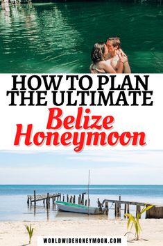 Belize Honeymoon, Caribbean Honeymoon, Belize Vacations, Honeymoon Spots, Vacation Resorts, Honduras Travel, Belize Travel, Costa Rica Travel, Cruise Travel
