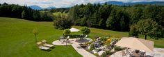 Adorable garden & surrounding landscape