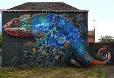 RT GoogleStreetArt: New Street Art by Mr Super A & Zenkone found in Hasselt…
