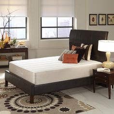 "Dream of sleeping on 12"" Sapphire Gel Memory Foam Mattress @natures_sleep"