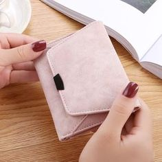 Wallet Female Women Leather Folding Coin Purse Hasp Short Wallet Vintage Fashion Lady Wallet for Credit Cards Carteira Feminina Wallet Female Women Leather Folding Coin Purse Hasp Short Wallet Vinta – cuteshoeswear big wallet Buy Wallet, Card Wallet, Thread Wallets, Cute Wallets, Work Bags, Wallets For Women Leather, Friends Fashion, Womens Purses, Women's Accessories