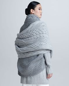 GIO KATHLEEN: Loro Piana Knitwear fashion AW'13