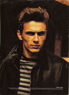 James Franco looks just like James Dean therefore I like him too. (They have the same first name too....weird)