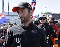 Sir Ben Ainslie - the most successful sailor in Olympic history and winner of the America's Cup with Oracle Team USA. Pretty much perfect.