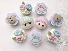 Babyface Cupcakes - Cake by Truly Madly Sweetly Cupcakes