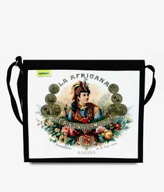 Apfelsina Shoulder Bag La Africana. Handmade in Berlin. Now available at our online store. www.apfelsina.de