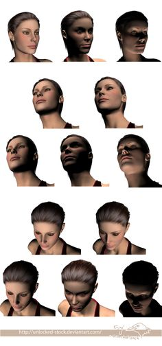 Face shading reference