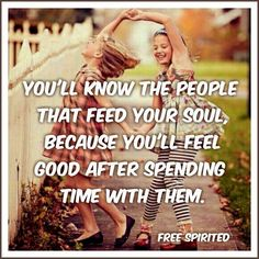 feed the soul only and feel good