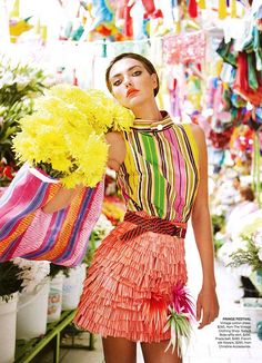 Alina Baikova by Nicole Bentley for Vogue Australia March 2011