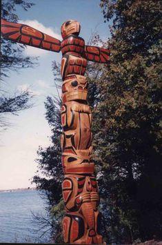 Totem Poles--Coast Salish Journey
