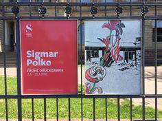 Sigmar Polke im Städel / kleine aber feine Ausstellung mit graphischen Arbeiten
