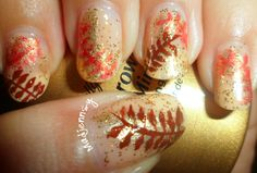 Try out these glorious fall nails!