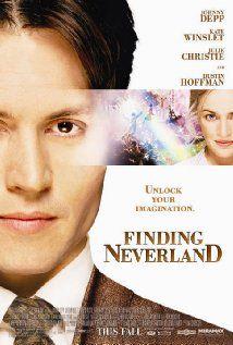 Finding Neverland - Johnny Depp, Kate Winslet… Story of J M Barrie writing Peter Pan - Wonder-Full