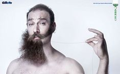 Gillette Campaign: Mach 3 on Behance