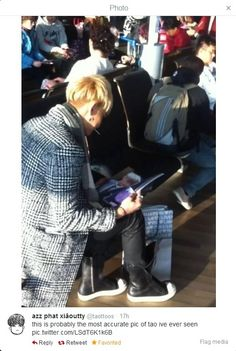Tao >_> why are you like this <_< but do you like the pictures the fans had taken of you?