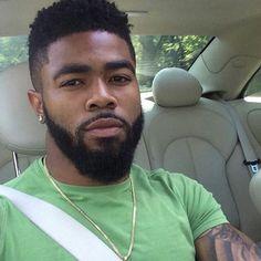 Pictures Of Sexy Black Men Just Because It's Friday Fine Black Men, Gorgeous Black Men, Handsome Black Men, Beautiful Men, Black Guys, Dark Man, Black Men Hairstyles, Men's Hairstyles, Black Men Beards