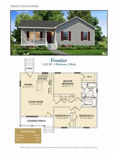 Take a look at all of Trinity Custom Homes Georgia floor plans here! We have a lot to offer so cont&; Take a look at all of Trinity Custom Homes Georgia floor plans here! We have a lot to offer so […] Homes Cottage floor plans House Plans 3 Bedroom, Dream House Plans, House Floor Plans, Br House, Sims House, Story House, Pole House, Duplex House, Cottage House