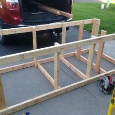 8 Cheerful Tricks: Woodworking Organization Life woodworking table home.Woodworking Table Home. Building A Workbench, Woodworking Workbench, Woodworking Furniture, Workbench Ideas, Garage Workbench, Folding Workbench, Carpentry Tools, Kid Furniture, Cardboard Furniture