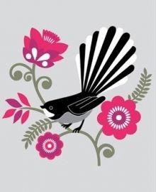 Fantail print from Greg Straight featuring iconic New Zealand bird. High quality digital art print on breathing colour stock. Eagle Drawing, Maori Designs, Tattoo Designs, Nz Art, Maori Art, Bird Illustration, Digital Illustration, Illustrations, Kiwiana