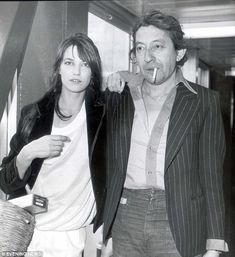 Jane Birkin recalls how meeting Serge Gainsbourg led to love and a new life in France | Daily Mail Online