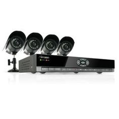 Defender SN502-4CH-002 Feature-Rich 4-Channel H.264 DVR Security System with Smartphone Access and 4 Indoor/Outdoor Hi-Res CCD Night Vision Cameras. Details at http://youzones.com/defender-sn502-4ch-002-feature-rich-4-channel-h-264-dvr-security-system-with-smartphone-access-and-4-indooroutdoor-hi-res-ccd-night-vision-cameras/