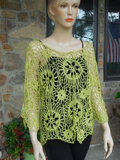 Hey, I found this really awesome Etsy listing at https://www.etsy.com/listing/198714626/lemon-green-harpin-lace-tunic