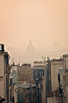 Foggy Paris