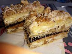 Bármilyen alkalomra jó választás, mert nem lehet megunni! Érdemes jó nagy adagot készíteni belőle, mert tényleg bámulatos süti. Hozzávalók Tésztához: 40 dkg liszt, 20 dkg cukor, 25 dkg margarin, 1 cs. sütőpor, 4 tojás sárgája, 2 ek tejföl. Tészta kenéséhez: … Egy kattintás ide a folytatáshoz.... → Hungarian Cake, Nutella, Yummy Treats, Oreo, Cookie Recipes, Food And Drink, Favorite Recipes, Sweets, Cookies