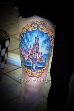Disney Castle Tattoo by gettattoo on DeviantArt