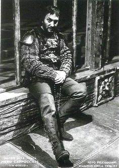 Piero Cappuccilli Jago nel mitico Otello alla Scala del '76 #verdimuseum