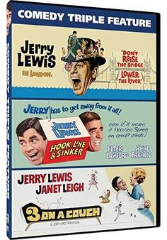 Jerry Lewis & Janet Leigh & Various-Jerry Lewis Triple Feature