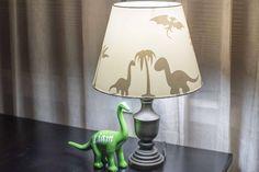 Dinosaur Shadow Lamp Shade, Dinosaur Custom Lamp Shade, Dinosaur Lampshade, Custom Dinosaur, Dinosaur Bedroom Decor, Dino Lampshade by TheRusticFoxCo on Etsy