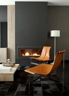 Lukas MachnikDesign - desire to inspire - desiretoinspire.net  camel and dark gray; stunning simplicity