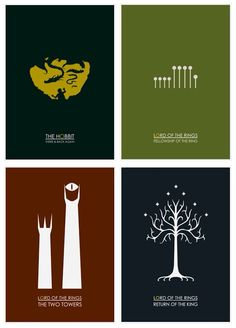 BEAUTIFUL lotr and hobbit book cover graphics!