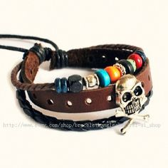 Cool Punk Bracelets for Men and Women! Awesome stuff!