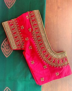 Cutwork Blouse Designs, Kids Blouse Designs, Pattu Saree Blouse Designs, Hand Work Blouse Design, Simple Blouse Designs, Stylish Blouse Design, Blouse Neck Designs, Simple Blouse Pattern, Traditional Blouse Designs