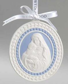 Madonna and Child. Wedgwood Vintage Collectible Christmas Ornaments at Replacements, Ltd