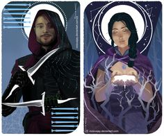 Inquisitor Tarot Card Commission by ViciousJay.deviantart.com on @DeviantArt