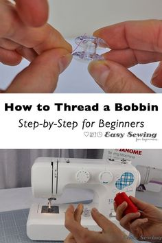 This video tutorial will show you how to thread a bobbin step by step for beginners. You wil have all the tips you need to successfully wind a bobbin. This tutorial is using a Janome sewing machine, but the steps are very similar for many sewing machines.