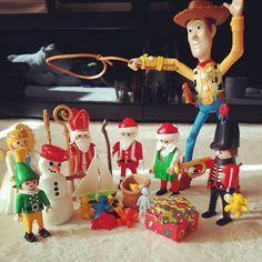 Happy Christmas♥ 산타한테 선물 잔뜩 받으셨쎄요?? #playmobil#santa#toys#woody